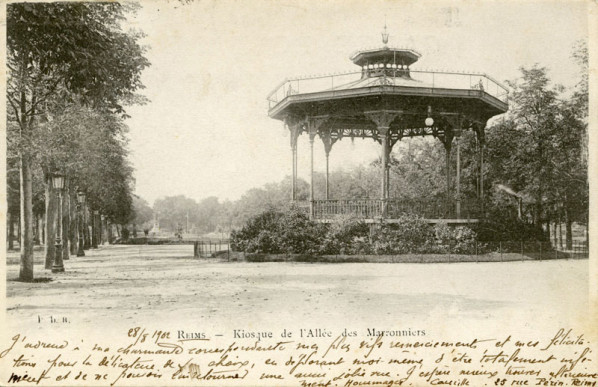 1902_Reims_PDR_Kiosque_Marronniers_800