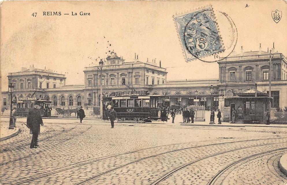 Le tramway et la Gare