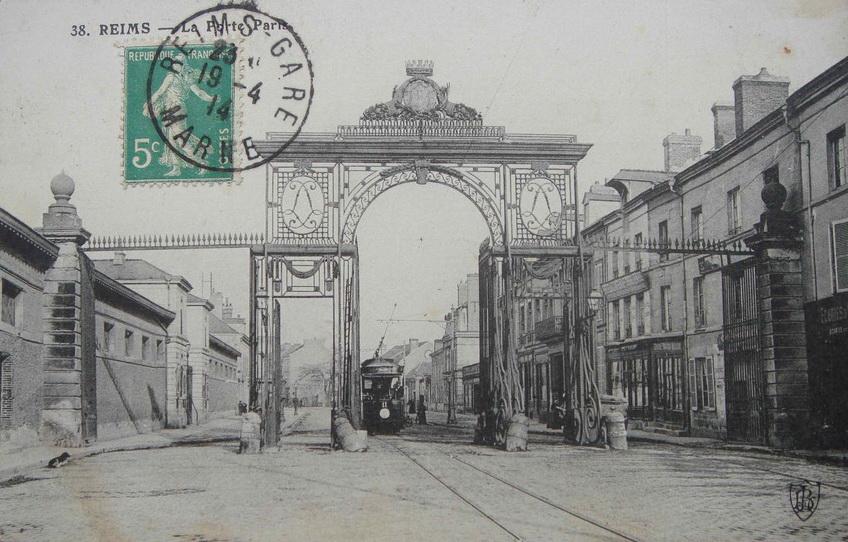 Le tramway porte de Paris