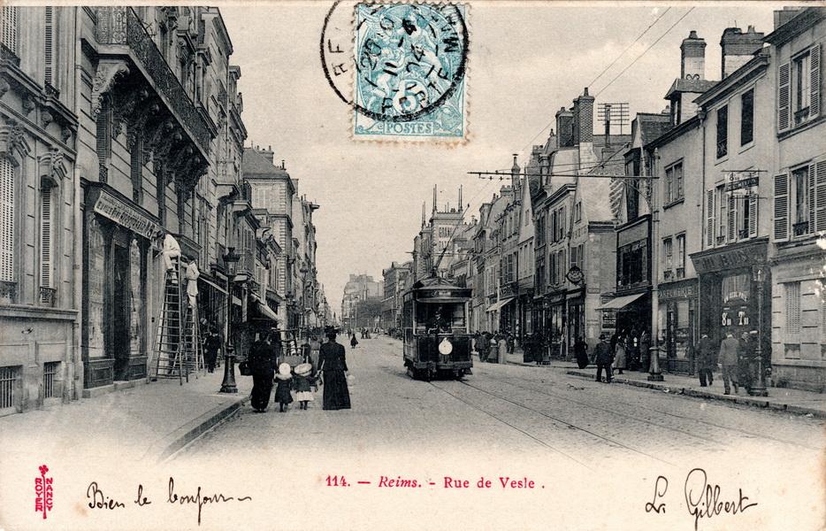 Le Tramway rue de Vesle