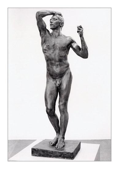 L'Age d'airain, Auguste Rodin, bronze, 1880.
