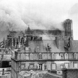 L'incendie de la cathédrale