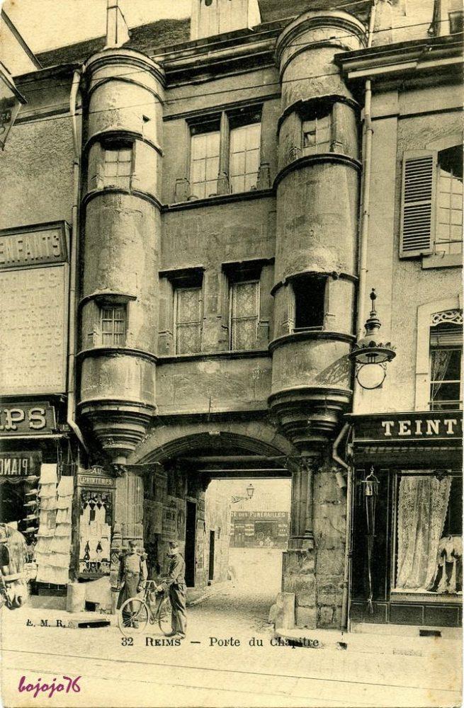 La Porte du Chapitre avant la Guerre