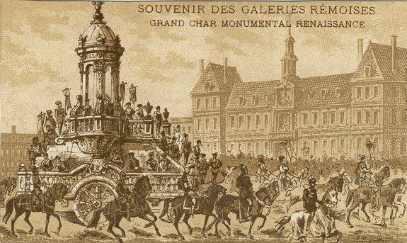 Cavalcade Char Renaissance
